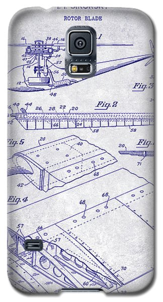 1949 Helicopter Patent Blueprint Galaxy S5 Case