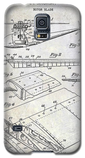 1949 Helicopter Patent Galaxy S5 Case