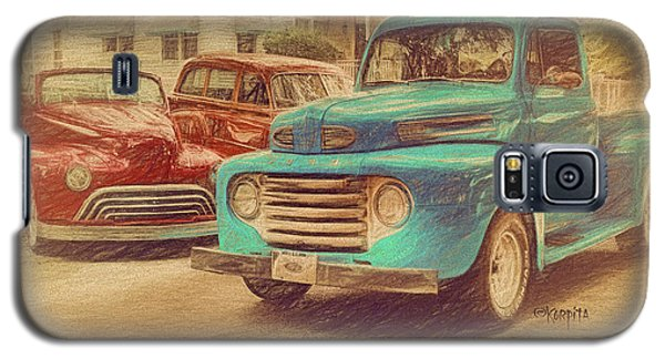 1950 Ford Truck Classic Cars - Homecoming Galaxy S5 Case