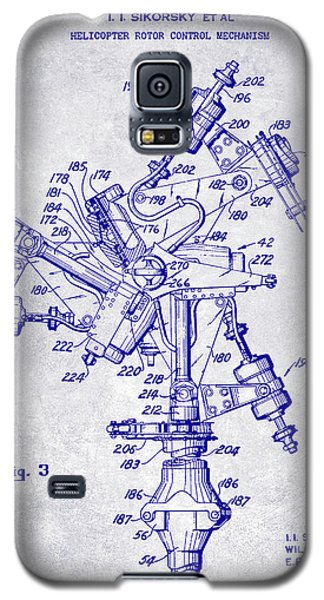 1950 Helicopter Patent Blueprint Galaxy S5 Case