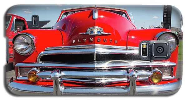 1950 Plymouth Automobile Galaxy S5 Case by Kevin McCarthy