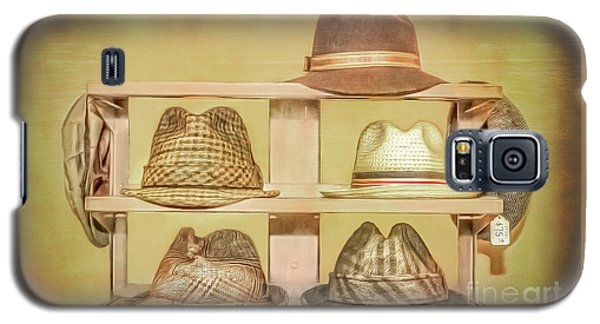 1950s Hats Galaxy S5 Case by Marion Johnson
