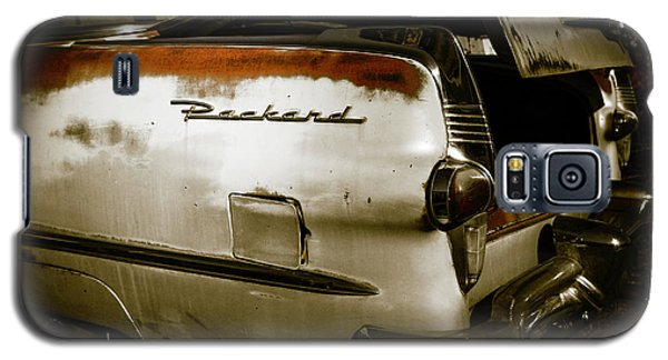 Galaxy S5 Case featuring the photograph 1950s Packard Trunk by Marilyn Hunt