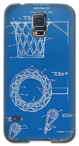 1951 Basketball Net Patent Artwork - Blueprint Galaxy S5 Case