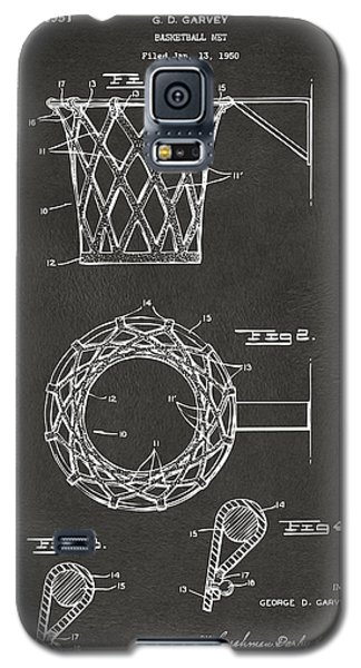 1951 Basketball Net Patent Artwork - Gray Galaxy S5 Case
