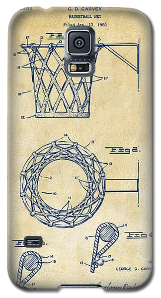 1951 Basketball Net Patent Artwork - Vintage Galaxy S5 Case