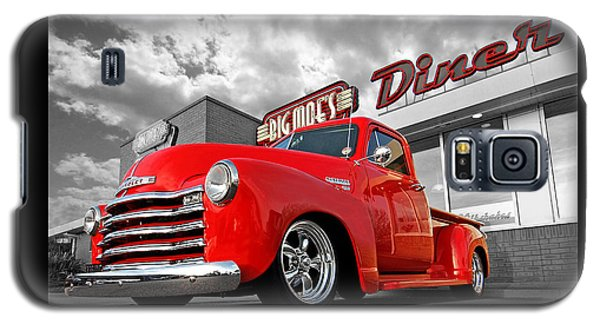 1952 Chevrolet Truck At The Diner Galaxy S5 Case