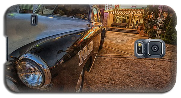 Galaxy S5 Case featuring the tapestry - textile 1952 Chevy  by Kathy Adams Clark