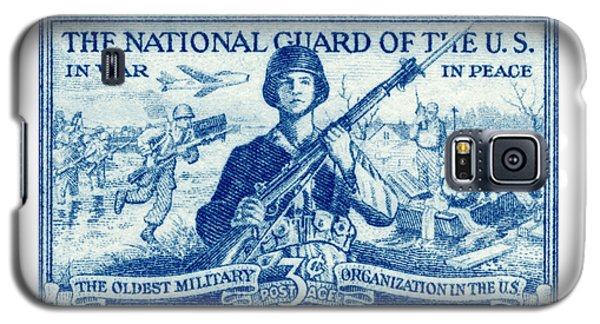 1952 National Guard Stamp Galaxy S5 Case