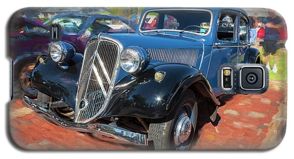 Galaxy S5 Case featuring the photograph 1953 Citroen Traction Avant by Rich Franco