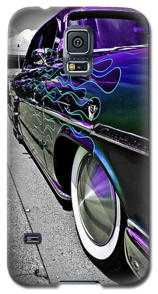 Galaxy S5 Case featuring the photograph 1953 Ford Customline by Joann Copeland-Paul