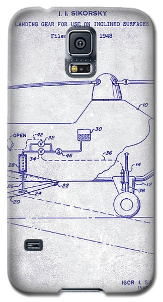 1953 Helicopter Patent Blueprint Galaxy S5 Case