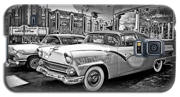 1955 Fairlane Crown Victoria Bw Galaxy S5 Case