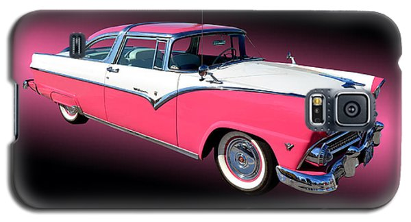 1955 Ford Fairlane Crown Victoria Galaxy S5 Case by Jim Carrell
