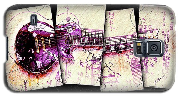 Van Halen Galaxy S5 Case - 1955 Les Paul Custom Black Beauty V3 by Gary Bodnar
