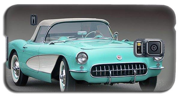 1956 Chev Corvette Galaxy S5 Case