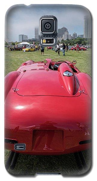 Galaxy S5 Case featuring the photograph 1956 Ferrari 290mm - 2 by Randy Scherkenbach