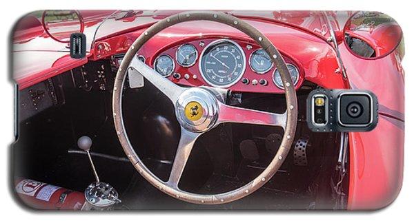 Galaxy S5 Case featuring the photograph 1956 Ferrari 290mm - 4 by Randy Scherkenbach