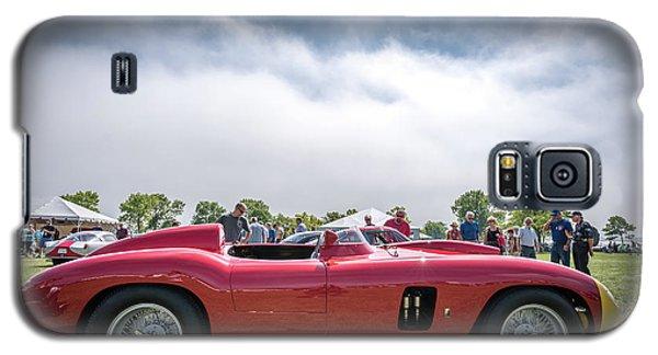 Galaxy S5 Case featuring the photograph 1956 Ferrari 290mm by Randy Scherkenbach