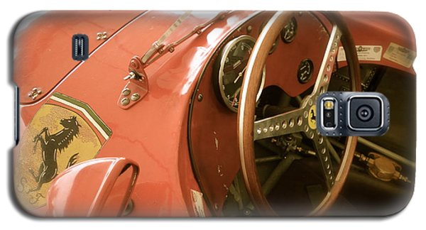 1956 Type Lancia Ferrari D50a Cockpit Galaxy S5 Case by John Colley