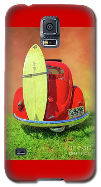 1957 Beetle Oval Galaxy S5 Case by Marion Johnson