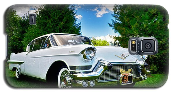1957 Cadillac Galaxy S5 Case by Mark Miller