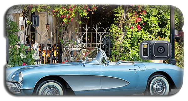 Galaxy S5 Case featuring the photograph 1957 Corvette by Brian Jannsen