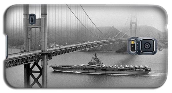 1957 Uss Hancock In San Francisco Galaxy S5 Case