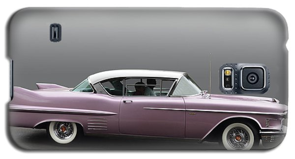 1958 Cadillac Coupe Galaxy S5 Case by Bill Dutting
