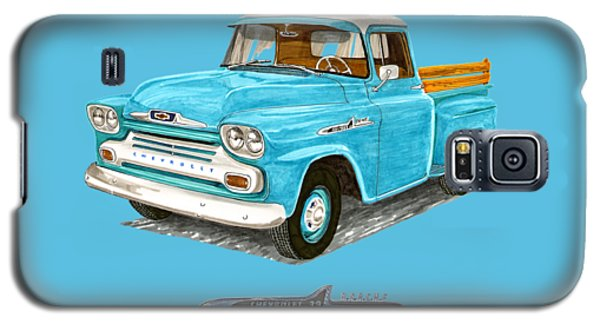 1958 Apache Pick Up Truck Galaxy S5 Case