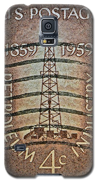 1959 First Oil Well Stamp Galaxy S5 Case