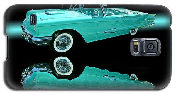 1959 Ford Thunderbird Galaxy S5 Case by Jim Carrell