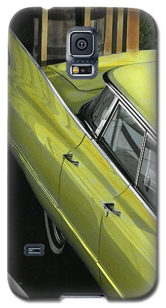Galaxy S5 Case featuring the photograph 1960 Cadillac by Jim Mathis