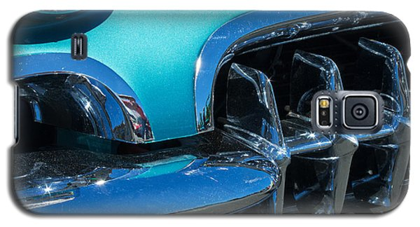 1960 Chevy Corvette Headlight And Grill Abstract Galaxy S5 Case