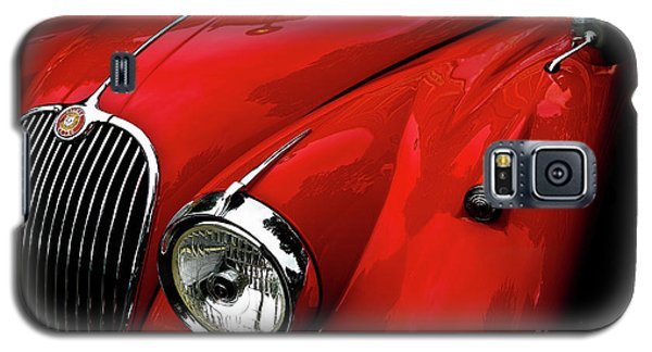 Galaxy S5 Case featuring the photograph 1960s Jaguar by M G Whittingham