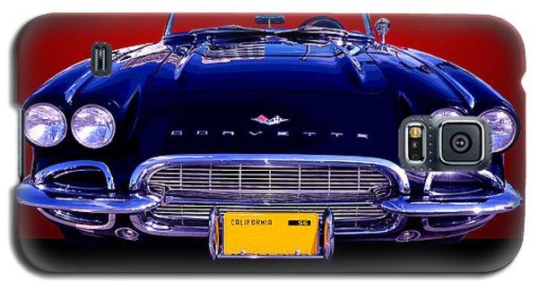 1961 Chevy Corvette Galaxy S5 Case by Jim Carrell