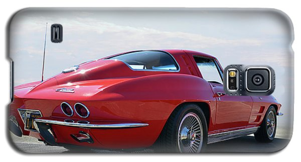 1963 Corvette Coupe Galaxy S5 Case by Bill Dutting