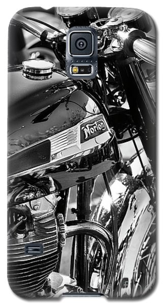Galaxy S5 Case featuring the photograph 1964 Norton Atlas by Tim Gainey