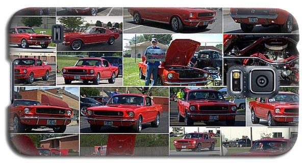 1965 Mustang Fastback Collage Galaxy S5 Case