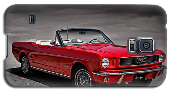 1966 Ford Mustang Convertible Galaxy S5 Case by Douglas Pittman