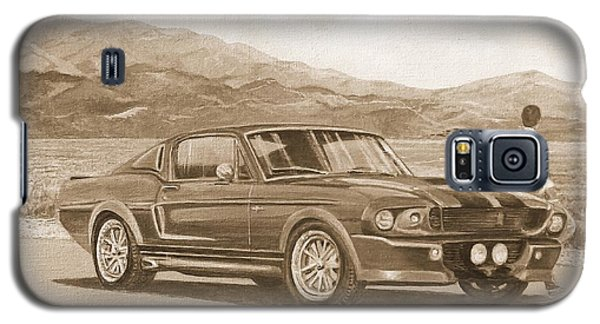 1967 Ford Mustang Fastback In Sepia Galaxy S5 Case