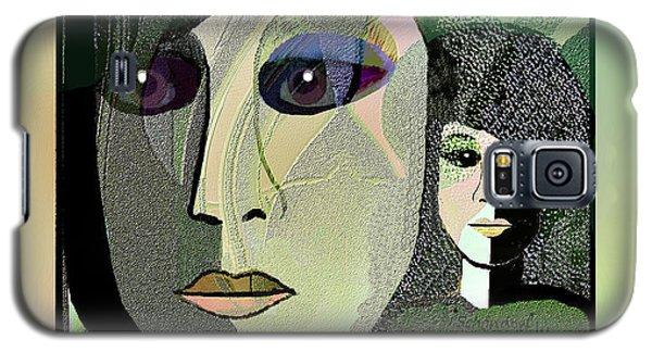 Galaxy S5 Case featuring the digital art 1968 - A Dolls Head by Irmgard Schoendorf Welch