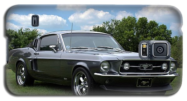 Galaxy S5 Case featuring the photograph 1967 Mustang Fast Back by Tim McCullough