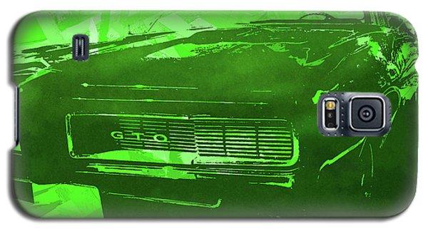 1969 Pontiac Gto Convertible Pop Green Galaxy S5 Case