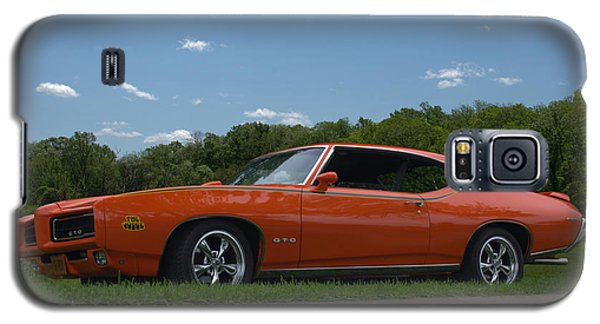 Galaxy S5 Case featuring the photograph 1969 Pontiac Gto Judge by Tim McCullough