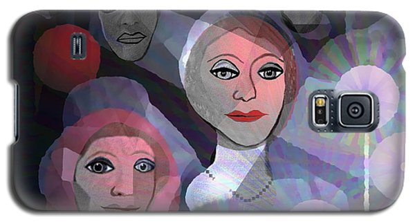 Galaxy S5 Case featuring the digital art 1970 - A Ceremony by Irmgard Schoendorf Welch