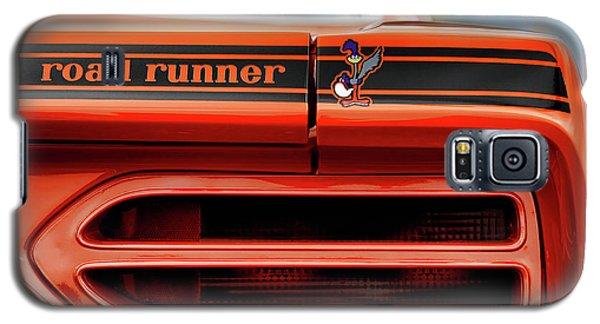 1970 Plymouth Road Runner - Vitamin C Orange Galaxy S5 Case by Gordon Dean II