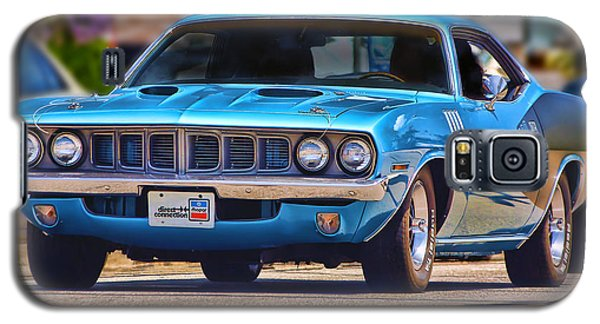 1971 Plymouth 'cuda 383 Galaxy S5 Case