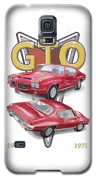 1971 Pontiac Gto Galaxy S5 Case