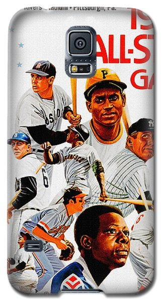 1974 Baseball All Star Game Program Galaxy S5 Case